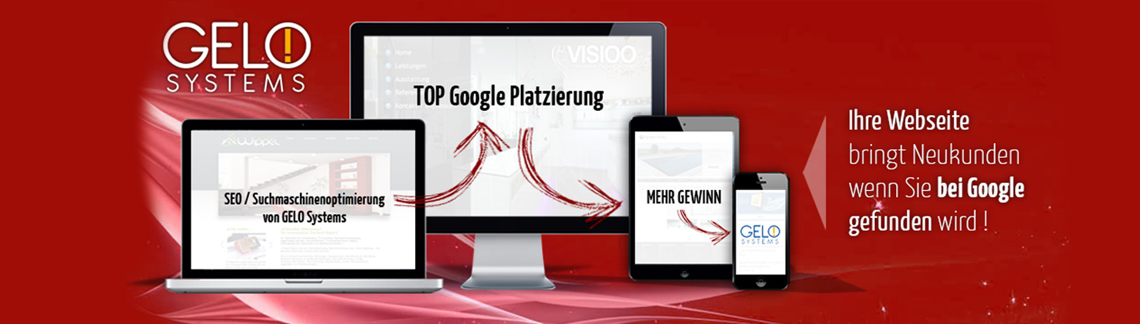 Webseiteoptimierung banner