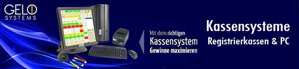 GELO Systems Registrierkassen und Kassensysteme - Ihr Anbieter für Registrierkassen für die Gastronomie, Registrierkassen für das Gewerbe, Registrierkassen für den Handel, Kassensysteme für die Gastronomie, Kassensysteme für das Gewerbe, Kassensysteme für den Handel, preiswertes Kassenzubehör, günstige Thermobonrollen, Thermodrucker von Epson und Star, POS Kassenladen, Bedienerschloss, Addimat Kellnerschloss, Touchmonitore uvm.